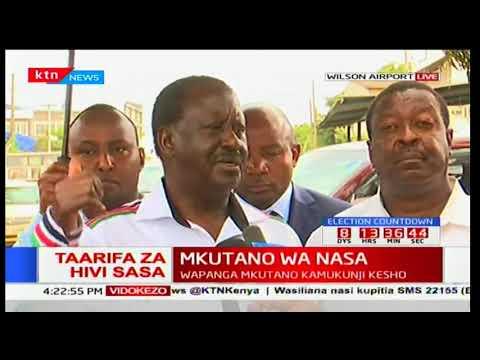 NASA flagbearer Raila Odinga reveals plans for victims slain during anti-IEBC protests