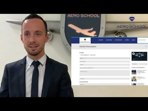 AeroSchool - Comment s'inscrire ?