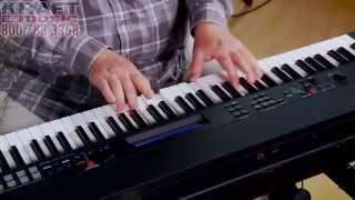 kraft music yamaha cp40 stage piano demo with adam berzowski