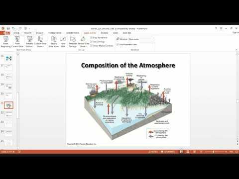 Chapter 1 Meteorology Presentation