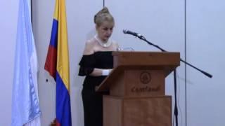 La danza de los hilos. Poemas. Amparo Romero Vásquez. Presentación libro. Nov. 10, 2016. MVI 0136