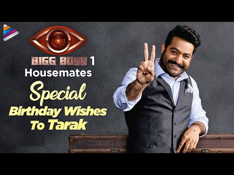 Bigg Boss 1 Housemates Special Birthday Wishes To Jr NTR | #HappyBirthdayNTR | Telugu FilmNagar