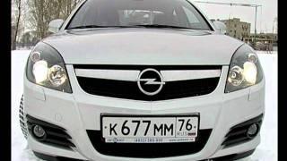 Тест Opel Vectra.avi