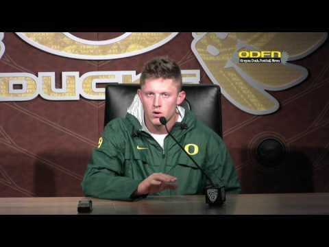POST GAME: Oregon QB Dakota Prukop Talks Loss to Colorado