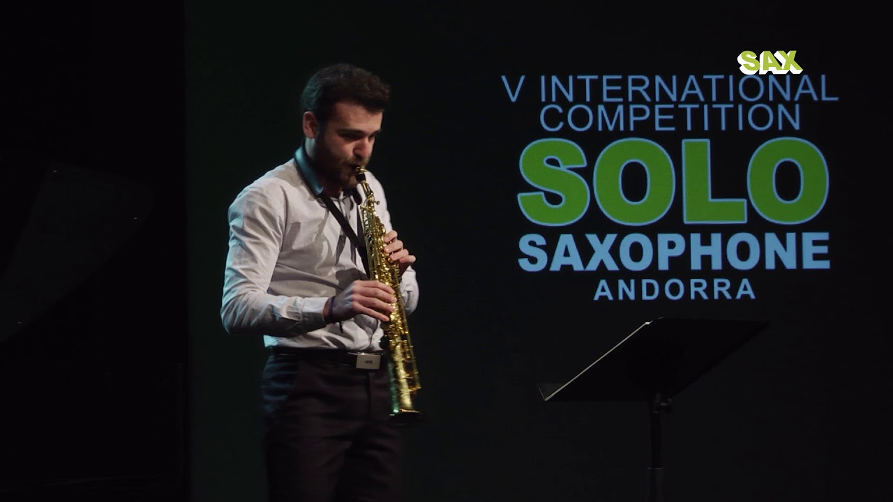 JAVIER CAMARA PALOMARES - 2nd ROUND - V ANDORRA INTERNATIONAL SAXOPHONE COMPETITION 2018