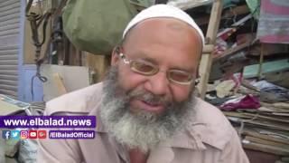 «عم أحمد» أشهر سروجي في بني سويف: «شغلانة مبقتش جايبة همها» .. فيديو وصور