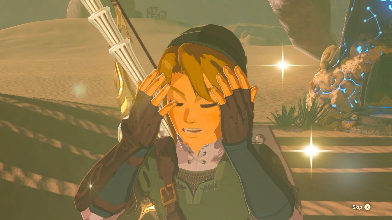 Zelda Botw Link Fully Upgrades His Twlight Outfit