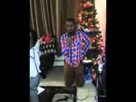 Hillarious Namibians christmas karaoke