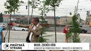 Zdeněk Hřib představuje stromy