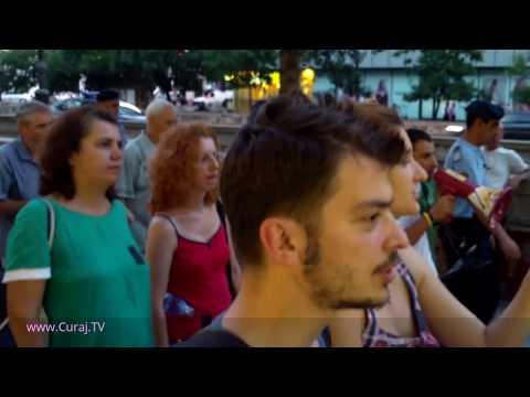 Marș de protest #rezist spre Curtea Constituțională - Curaj.TV