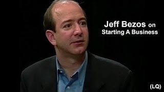 Jeff Bezos on Starting Amazon During Tough Times