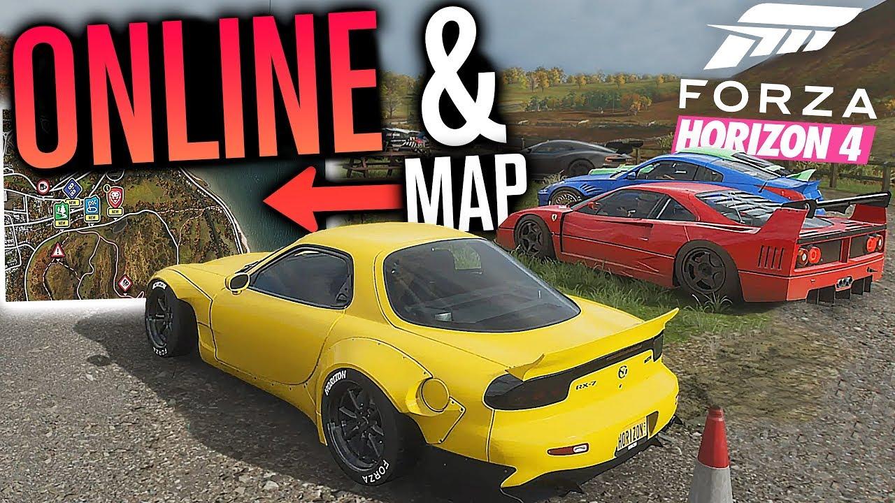 Forza Horizon 4 Full Map Online Freeroam Forzathon