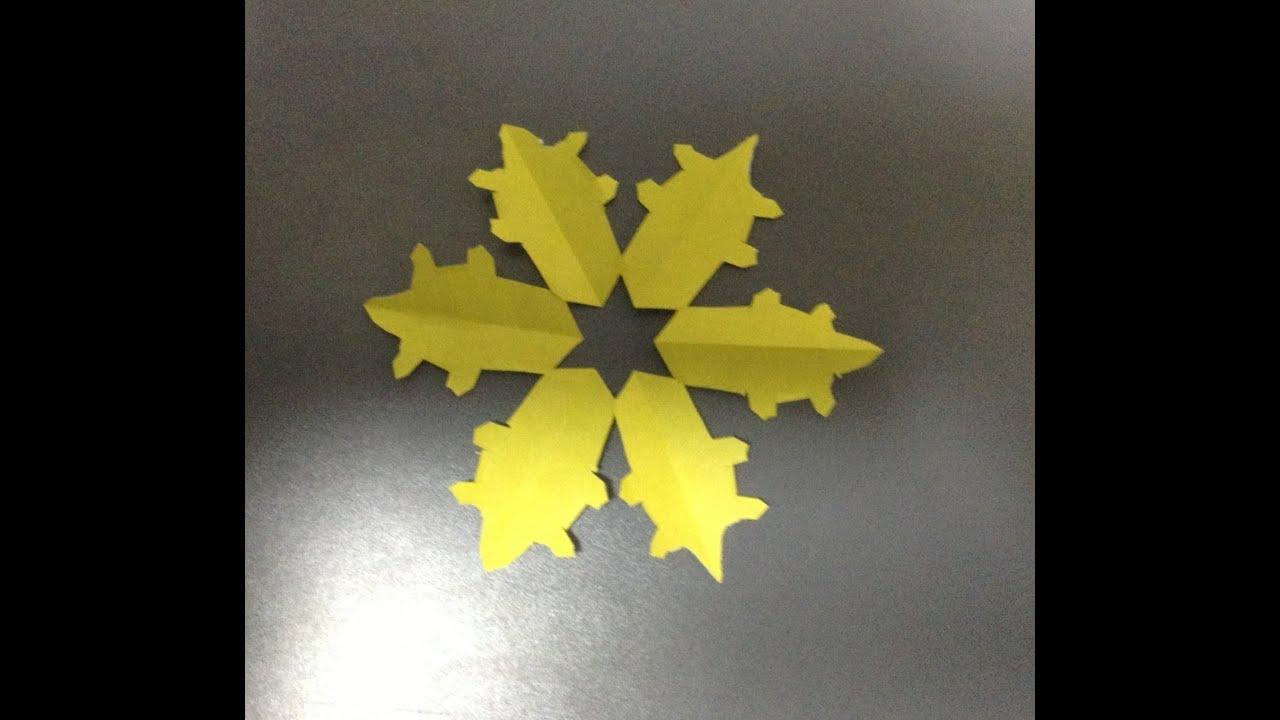 クリスマス 折り紙 クリスマス 折り紙 雪の結晶 : クリスマス飾り 雪の結晶 ...