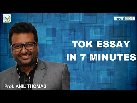How to TOK essay in 10 minutes