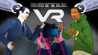 G-Man vs CJ [Half Life versus GTA SA] 360 VR