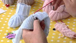 Bebek Patik yapımı - Derya Baykal - Deryanın Dünyası