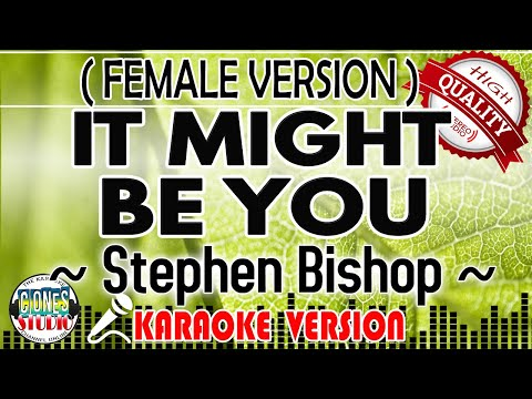 HQ Karaoke | IT MIGHT BE YOU By Stephen Bishop