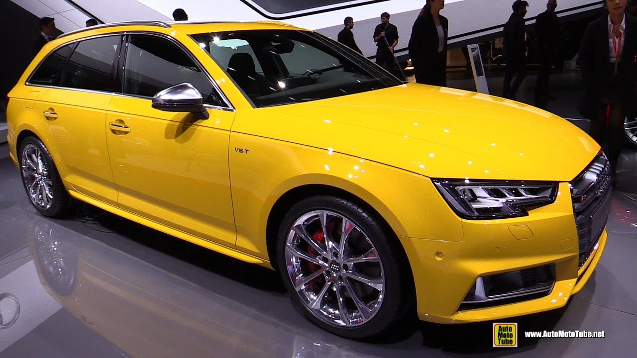 2016 audi s4 avant exterior and interior walkaround. Black Bedroom Furniture Sets. Home Design Ideas