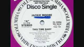Classic Disco Jackie Moore - This Time Baby 12 Inch Version (1979)