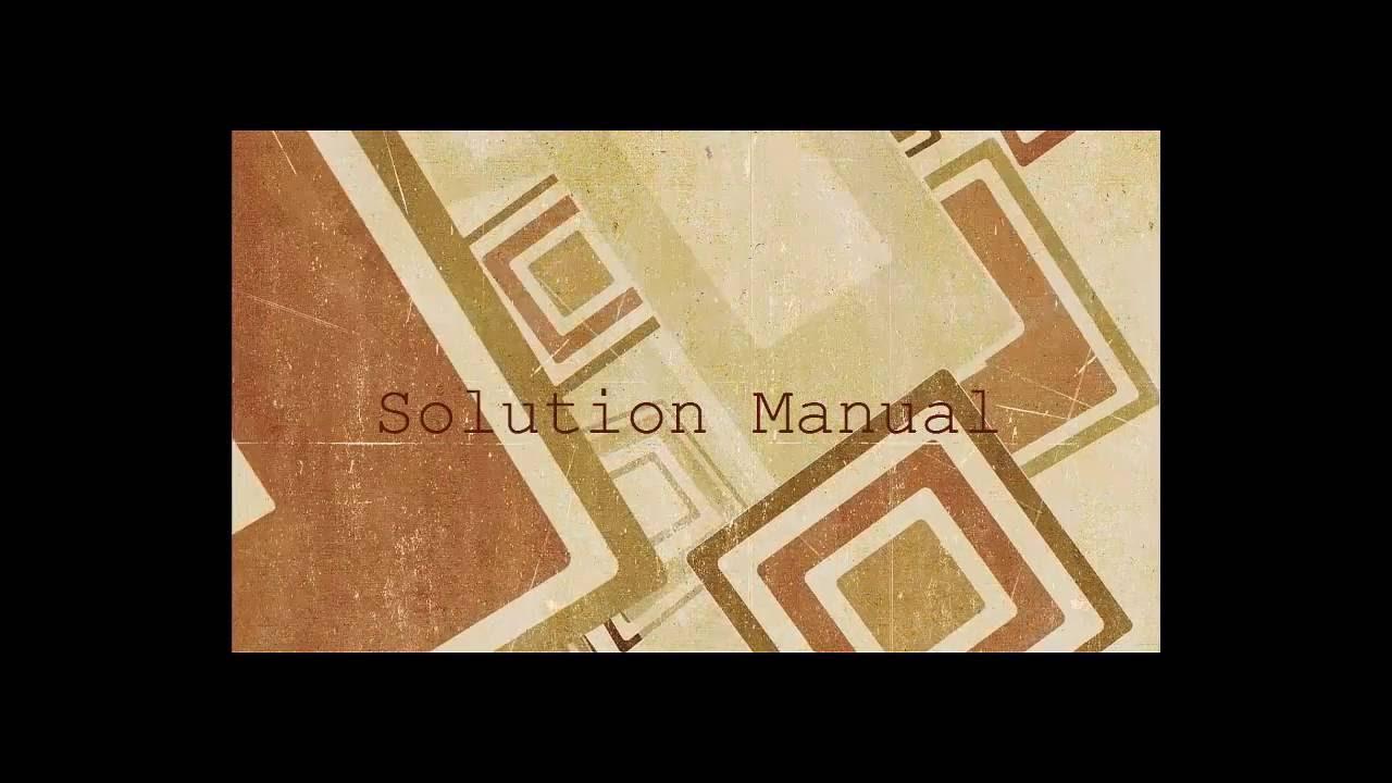 Perkarkick Blog Archive Electric Circuit Fundamentals Sergio Franco Solution Manual
