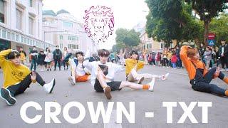 [KPOP IN PUBLIC] TXT (투모로우바이투게더) '어느날 머리에서 뿔이 자랐다 (CROWN)'  커버댄스 Dance Cover  By B-Wild From Vietnam