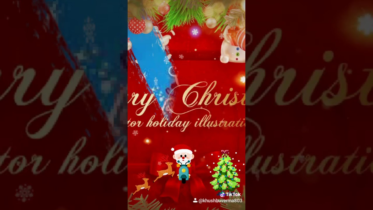 We wish you a merry Christmas song.🎅🎅and happy new year. 🥳🥳new popular tik tok video,new Christm ...