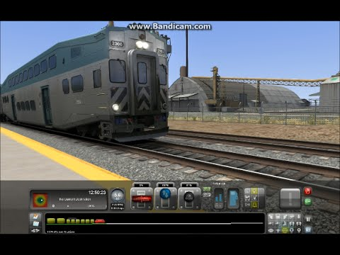 TS15: San Diego Commuter Train: Fly-Bys and Station Stops |