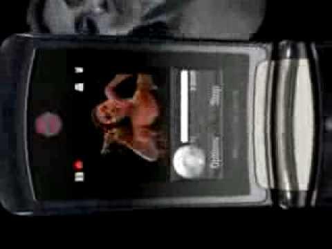 Motorola RAZR V8 - sales video