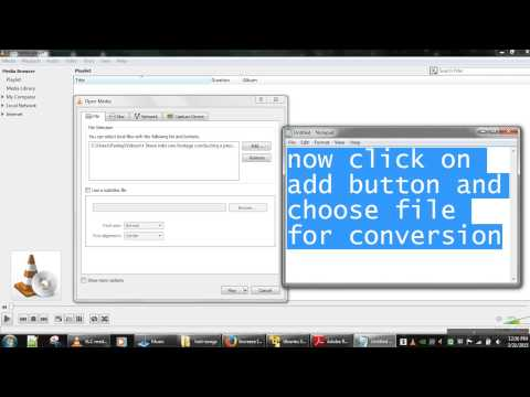 how to convert video in mp4,mov,wav,asf,ps,ts,mpg,ogg,flv using vlc