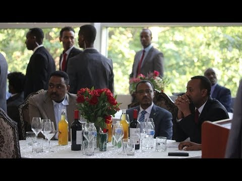 Ethiopia - Too much love for PM Abiy Ahmed in Washington DC on his arrival, and he deserves it all!