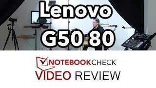 Lenovo G50 80 Review and tests. 15-inch budget multimedia laptop.