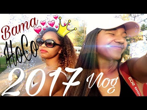 University of Alabama Homecoming 2017 Vlog | Travel with Tai