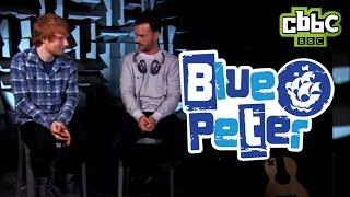 Ed Sheeran interview on Blue Peter - CBBC