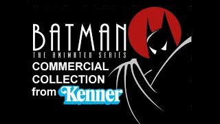 Batman the Animated Series Action Figures Commercial Collection (1992-1998)