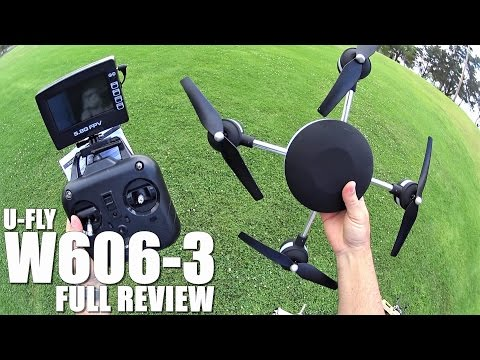 HUAJUN UFLY W606-3 5.8G FPV Quadcopter(Lily) - Full Review - [UnBox, Inspection, Setup, Flight Test]