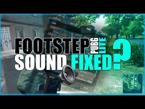 PUBG LITE SOUND BOOST FOR FOOTSTEPS BY HUNTERS GAMEPLAYS