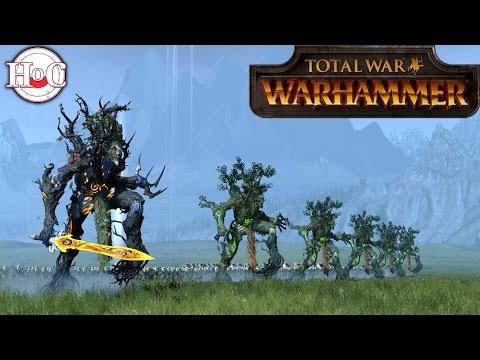 Ents March to War - Total War Warhammer Online Battle 181