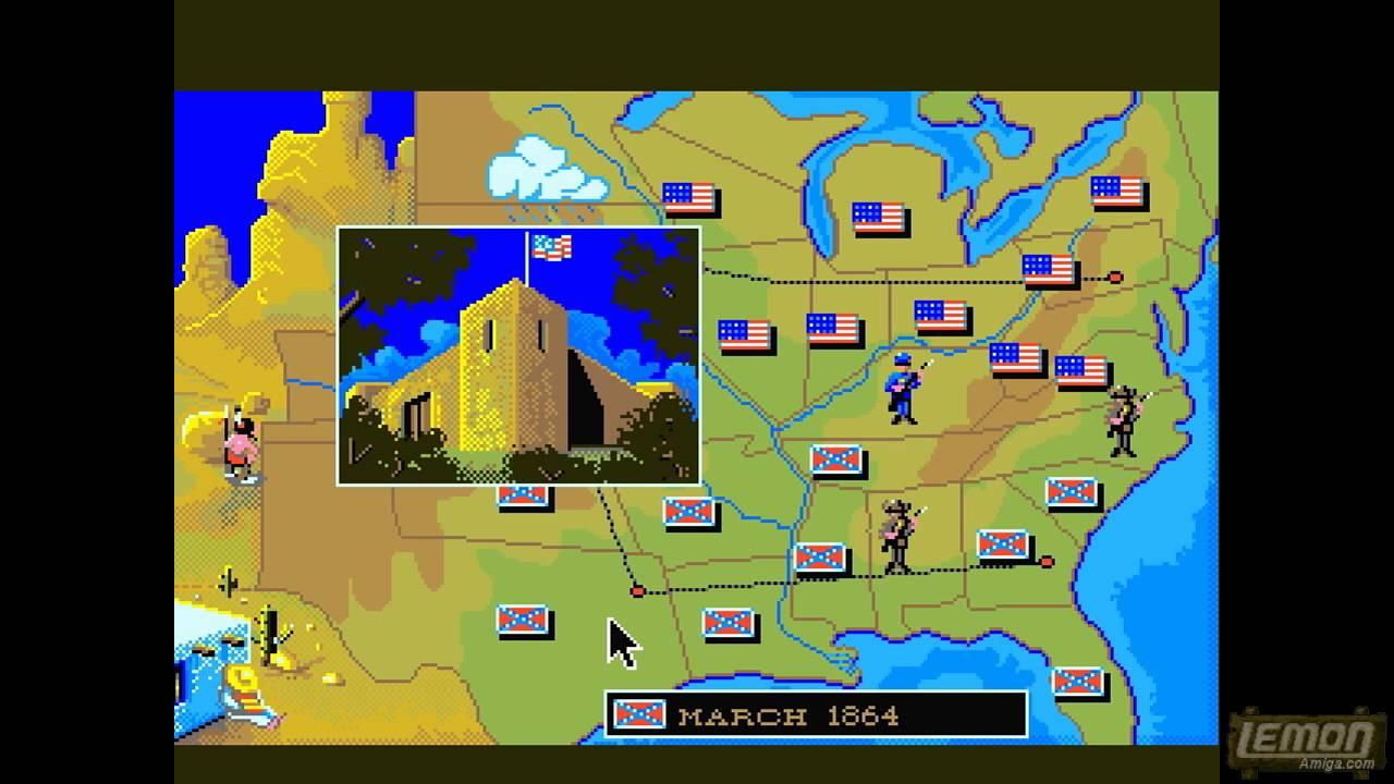 North and South (Amiga) - A Playguide and Review - LemonAmiga com