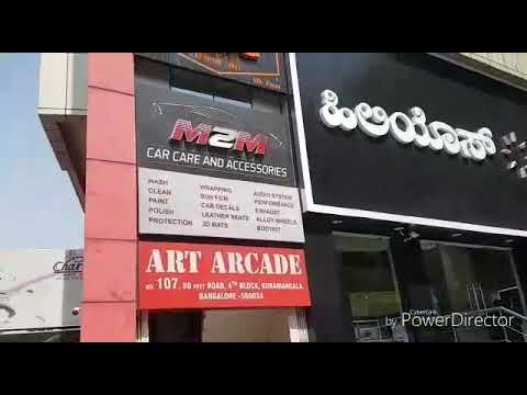 Bangalore Biggest Alloy wheels showroom and Accessories