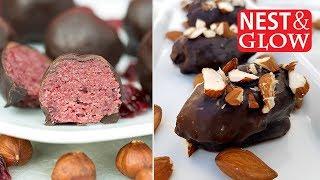 Healthy Christmas Treat Recipes [vegan + gluten-free]
