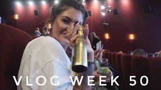 VLOG WEEK 50 - A WEEK IN LONDON & A CANCELLED SKYDIVE | JAMIE GENEVIEVE