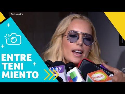 Tania Ruiz evade preguntas sobre boda con Peña Nieto   Un Nuevo Día   Telemundo