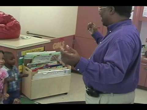 Dr Thomas Moore teaches children the Humpty Dumpty Dumpty dance