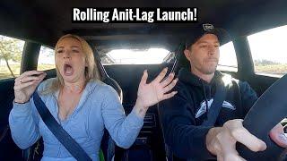 homepage tile video photo for Scaring my Girlfriend in a 1300HP Twin Turbo Lamborghini Huracan!