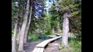 Glacier National Park - Grinnell Lake Trail Hike, Many Glacier…