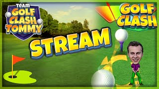Golf Clash LIVESTREAM, Textguide walkthrough - RJ TV in da house!