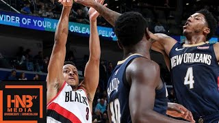 Portland Trail Blazers vs New Orleans Pelicans Full Game Highlights | March 15, 2018-19 NBA Season