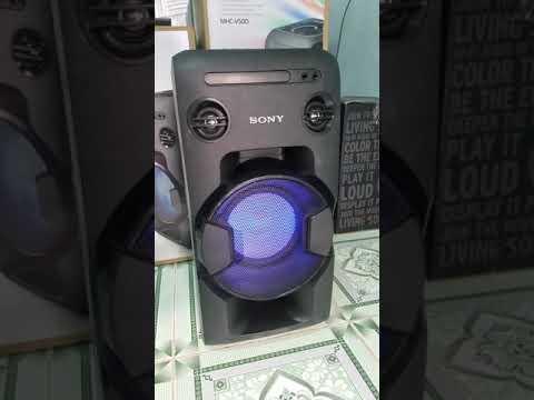 Test Âm Thanh Dàn Âm Thanh Sony MHC-V11