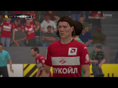FIFA 17   Spartak Moscow vs Liverpool   Champions League Group Stage 2017/18   Full Gameplay PS4