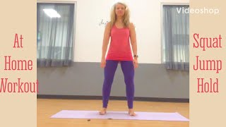 5 minute feel good workout at home